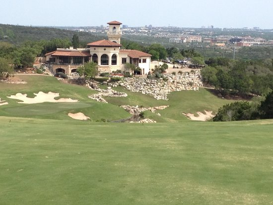 Palmer Course at La Cantera: View from Number 18