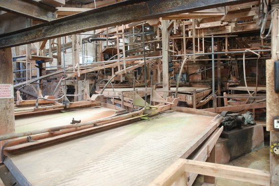 Geevor Tin Mine: In the processing plant