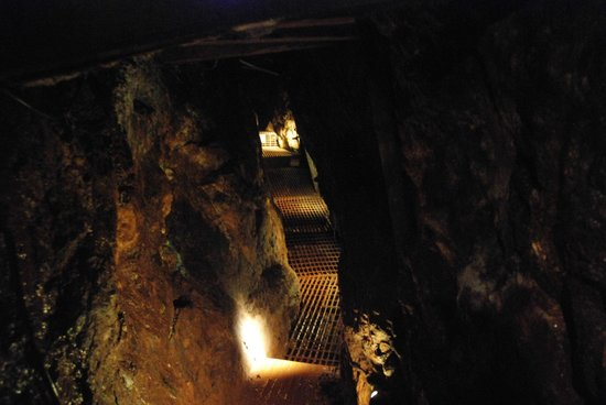 Geevor Tin Mine: In the mine