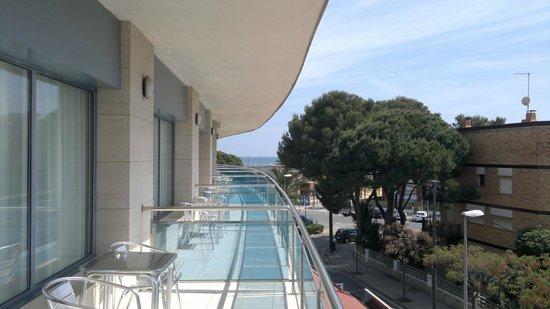 Best Western Hotel Mediterraneo : Balcony
