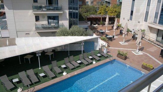 Best Western Hotel Mediterraneo : Pool view