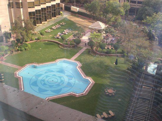 Hyatt Regency Delhi: People would 'book' their sun lounges really early