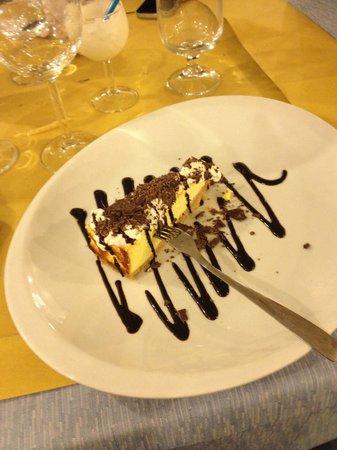 Ristorante La Siesta : Cheesecake al cioccolato