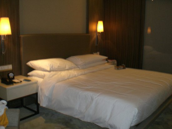 Hyatt Regency Delhi: Quite a small bedroom