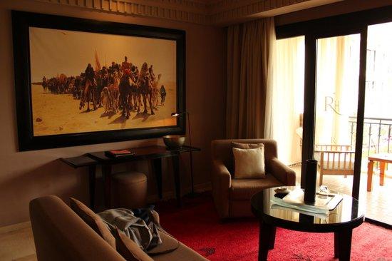 Les Jardins de La Koutoubia : salotto della suite