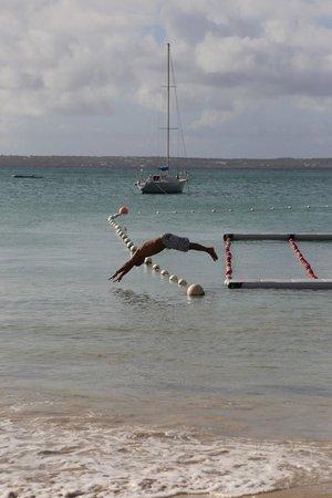Anse Marcel, St. Maarten-St. Martin : La playa