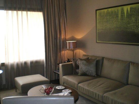 Hyatt Regency Delhi: Seating area of our suite