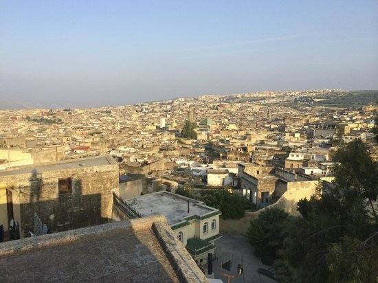 Dar Roumana: View over the medina!