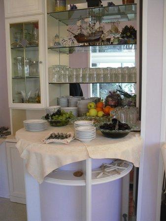 Hotel Airone: dettaglio buffet colazione