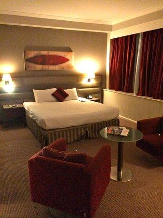 Radisson Blu Hotel, Durham : Big bed