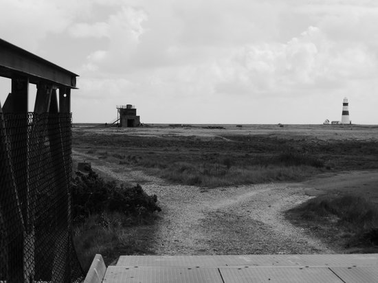 Orford Ness National Nature Reserve: View from the bridge
