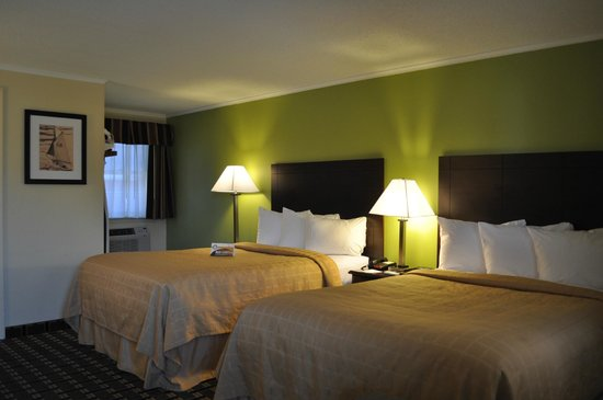 Quality Inn Barre/Montpelier : Guest Room 2 Double Beds