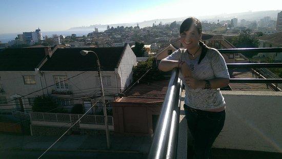 B&B CasaMoro Hostel : La terraza