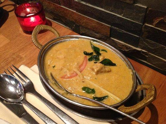 Chettinad Restaurant: Thengai Kolli Kullambu