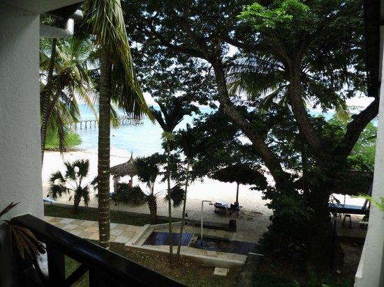 Protea Hotel Zanzibar Mbweni Ruins: view from our terrace