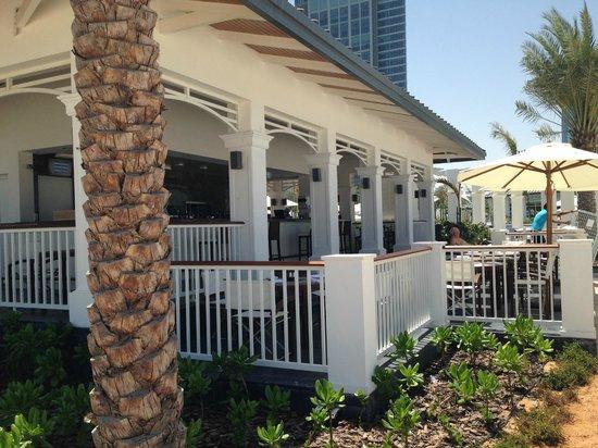 The St. Regis Abu Dhabi : Lunch place beach club