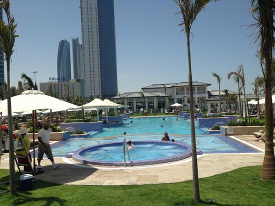 The St. Regis Abu Dhabi : Pool at Beach Club - there is another pool at the hotel