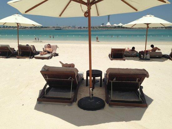 The St. Regis Abu Dhabi : Beach