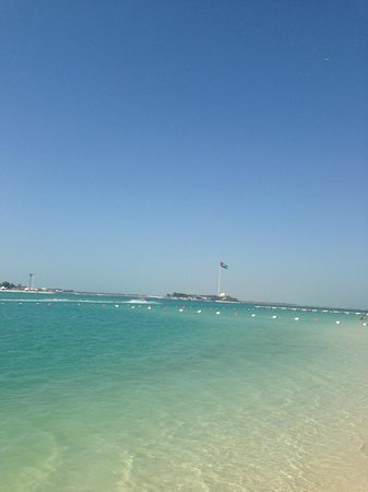 The St. Regis Abu Dhabi : View from the beach