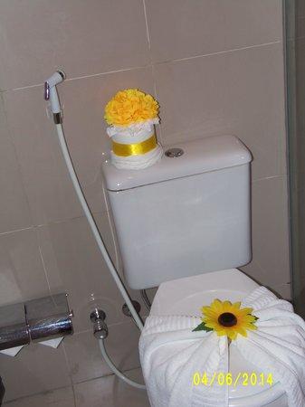 Mareiro Hotel : decoração do banheiro