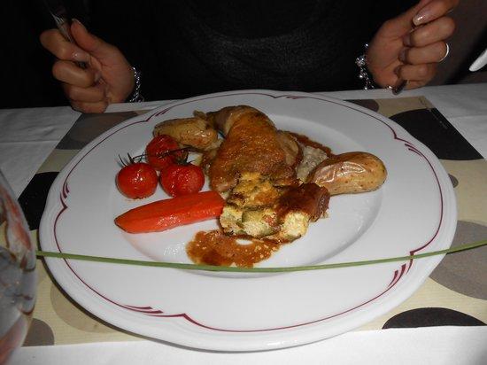 Hotel Restaurant Lou Caleu : plat proposé par le restaurant