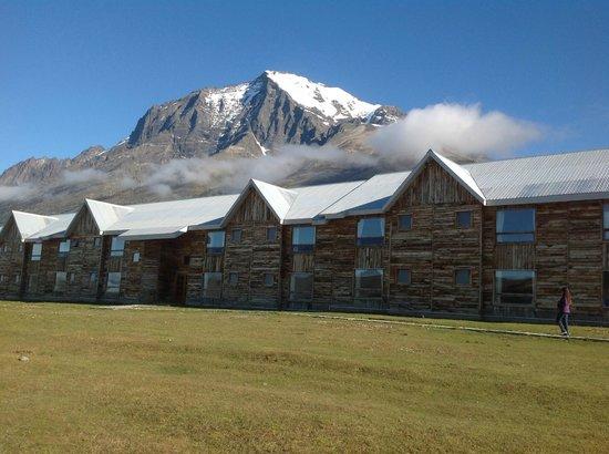 Las Torres Patagonia: Área externa