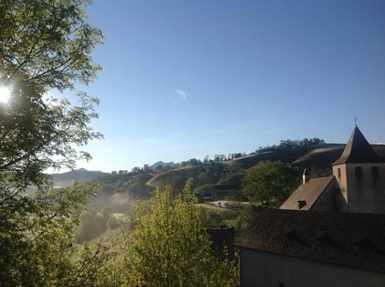 Chateau de Porthos: vista desde la ventana