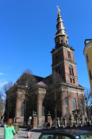 Erlöserkirche (Vor Frelsers Kirke): Outside view of the Church