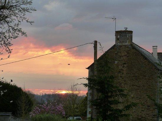 Sunset from Gite