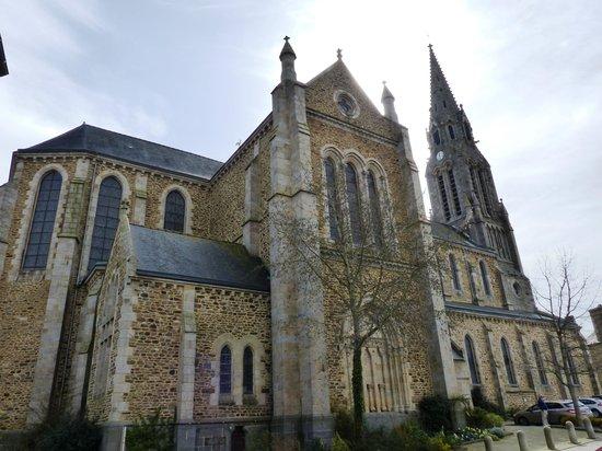 Church at Pleudinhen sur Rance