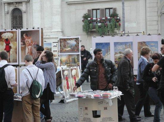 Piazza Navona : 19 mars 2014