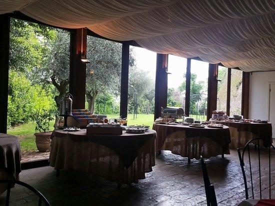 Relais Palazzo Viviani: La colazione