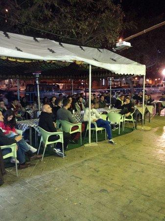 Kebab Damasco : Nuestra terraza