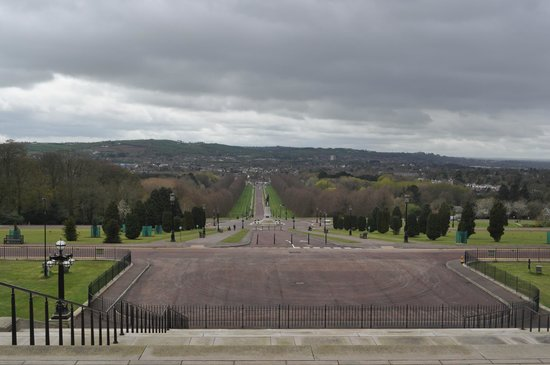 Stormont Estate and Parliament Buildings: view from Stormont