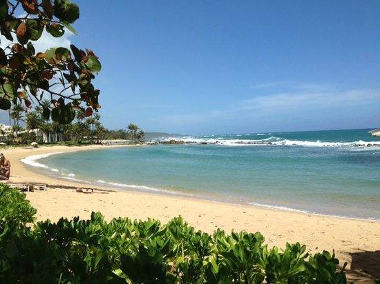 Dorado Beach, a Ritz-Carlton Reserve: Beach west end