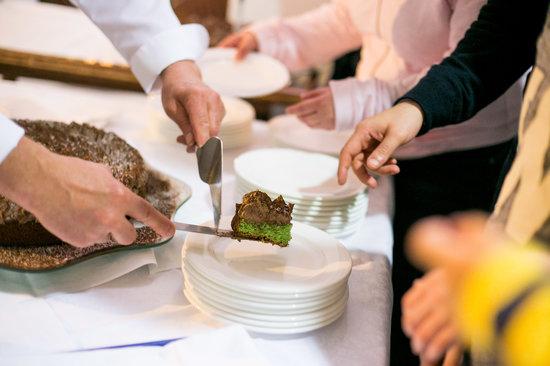 Hotel Maddalena : Torta menta e cioccolato...che fresca delizia!