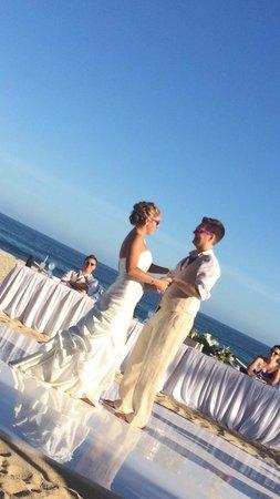 Hyatt Ziva Los Cabos : A wedding on the beach