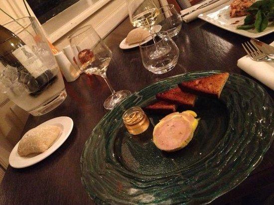 Hotel Oceania Le Métropole : Menu cena. Paté foie gras.