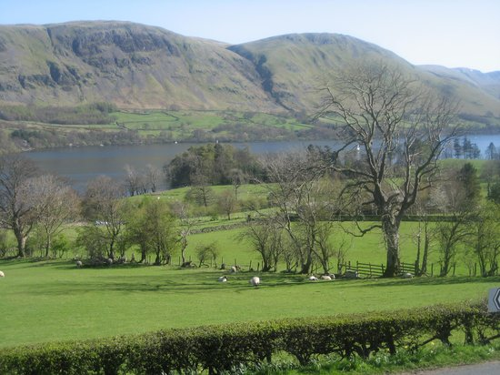 Brackenrigg Inn: view from bedroom 1 window