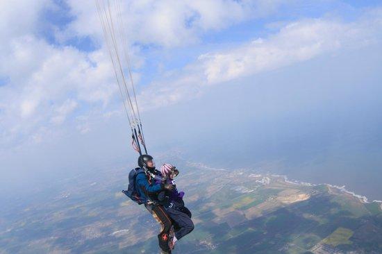Peterlee Parachute Centre: Amazing views