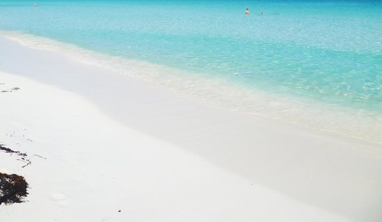 Playa Paraiso : sole, acqua , sabbia bianchissima abbagliante