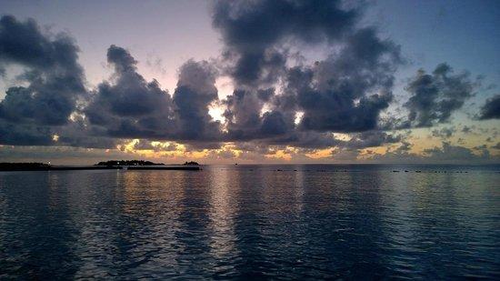 Cinnamon Dhonveli Maldives: View from a bar