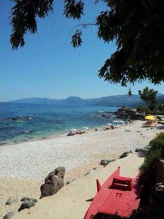 Cala Fuili Beach : Cala gonone