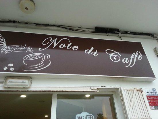 NOTE DI CAFFE'