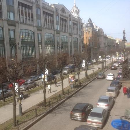 Nevsky Hotel Grand: vue de notre chambre