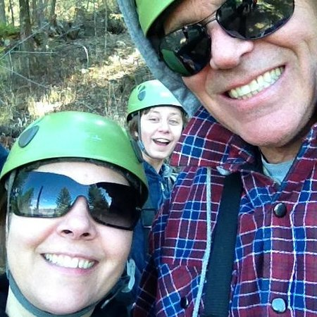 Oyama Zipline Adventure Park: Photo Bomb