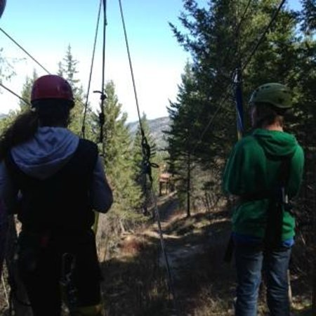 Oyama Zipline Adventure Park: Sunny weather, all ready, lets Zip!