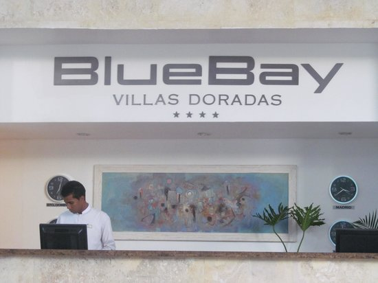 BlueBay Villas Doradas Adults Only: Reception Area