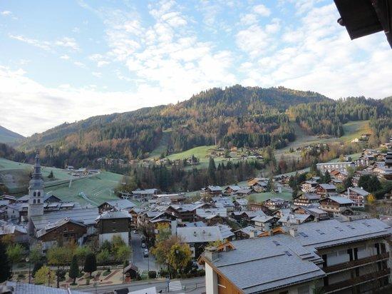 Les Grandes Alpes : Vue du balcon