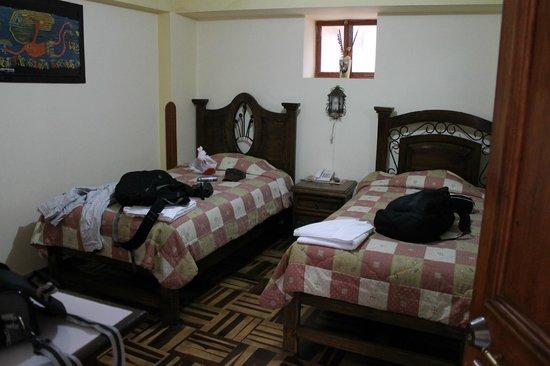 Hotel Chincana Wasi - La Casa Escondida: Quarto duplo